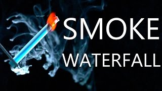Repeat youtube video How To Make A Smoke Waterfall & Firey Smoke Combustion Experiments