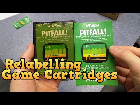 Relabelling and Restoring Cartridge Games