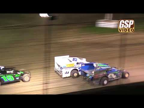 Order the complete race night DVD at http://gspshop.com - Sportsman feature highlights from 4/21/2018 at Grandview Speedway. - dirt track racing video image