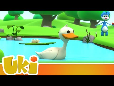 Uki - Adventures with Duck 🦆 (15+ Minutes!) | Videos for Kids
