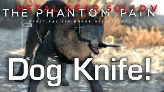 Diamond Dog has a Knife! - Metal Gear Solid V: The Phantom Pain Gameplay