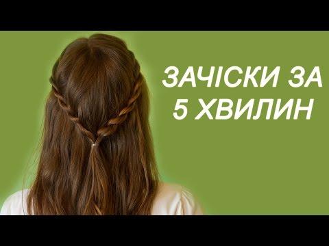 Зачіски довге волосся