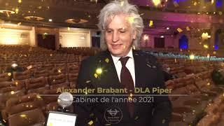 Palmarès du Droit 2021   DLA Piper   Cabinet de l'année 2021 en partenariat avec Secib