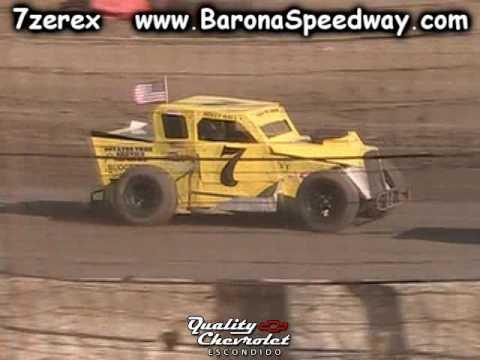 Dwarf Car Heat 1 Barona Speedway 7-1-2017