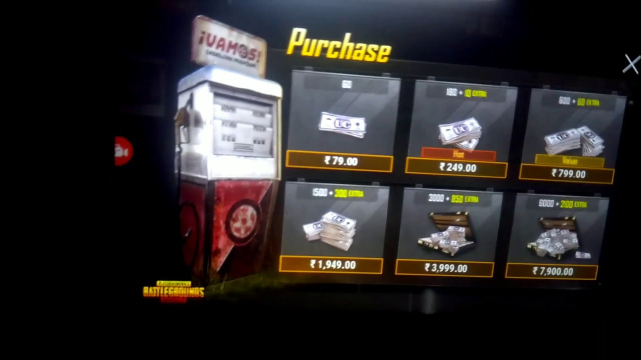 How to get Free UC cash in PUBG Mobile