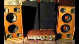 The test restored Elektronika B1-01 (acoustics)