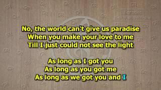Kenny Rogers - You and I (Karaoke)