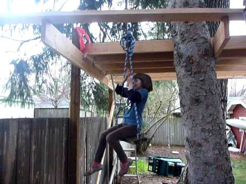 Maddie Two Pulleys Plus A Platform Youtube
