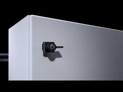 AE Compact Enclosure Door Installation