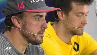2017 Bahrain Grand Prix: Pre-Race Press Conference Highlights
