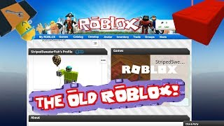HOW TO GET THE OLD ROBLOX LAYOUT BACK (2018)