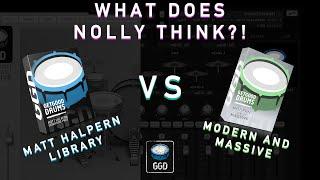 WHAT DOES NOLLY THINK? GGD Matt Halpern Library vs Modern & Massive