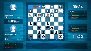 Chess Game Analysis: النمروود - Housam DX : 0-1 (By ChessFriends.com)