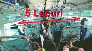O calatorie nebuna cu autobuzul in Sri Lanka