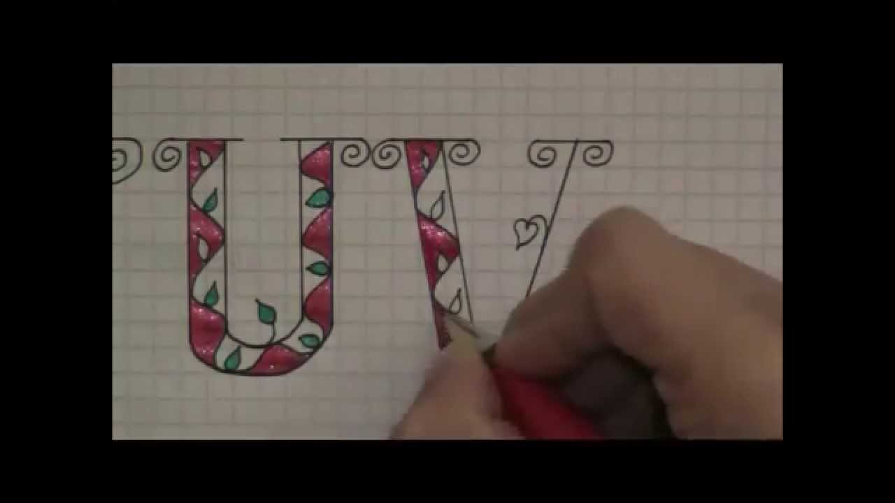 How To Write In Fancy  Creative Letters For Beginners  Youtube