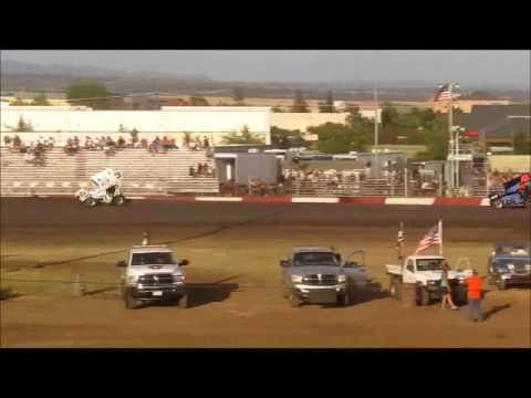 Sprintcars @ Silver Dollar Speedway 5 29 16 part 1