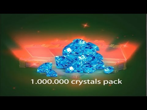 Tanki Online - TOP 10 Most Luckiest Containers Openings Ever!? 1,000,000 Million Crystals!?