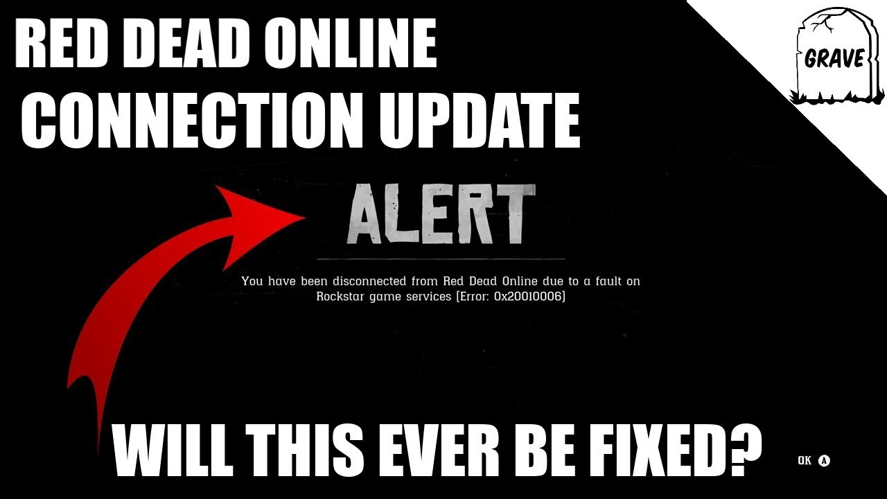 Red Dead Online Connection Problems (Update) | Error Code 0x20010006