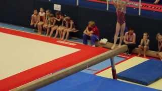 Соревнование по спортивной гимнастике среди девочек. ГКСДЮШОР Комета.