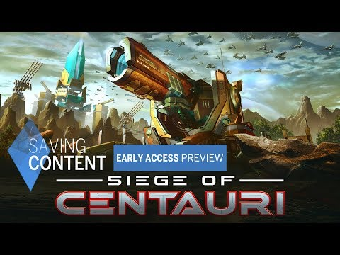 Siege of Centauri Early Access Preview  