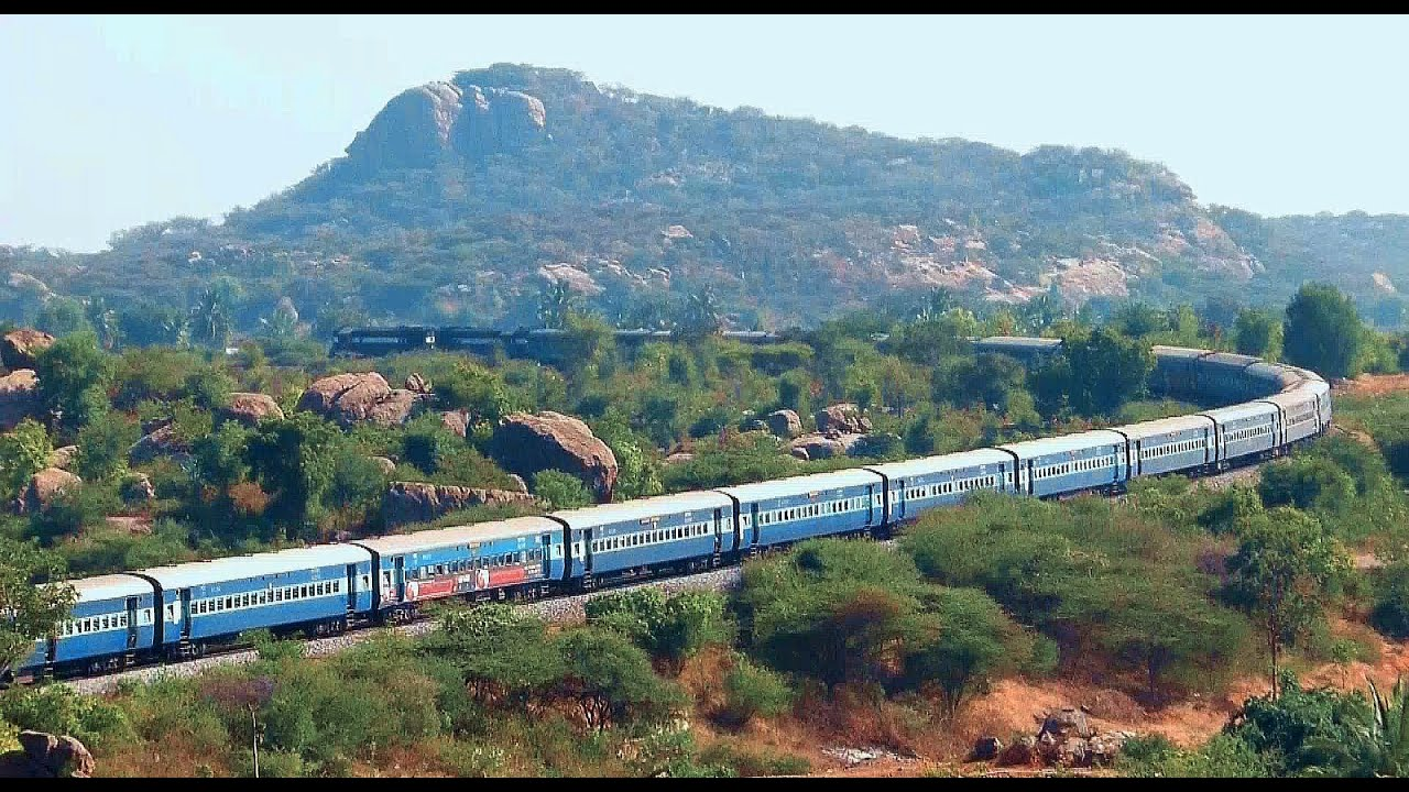 MOTHER OF CURVES : RYC HORSE SHOE CURVE INDIAN RAILWAYS