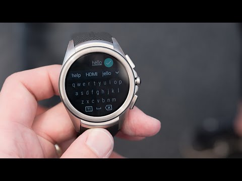 First look at Android Wear 2.0