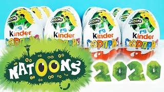 Киндер Сюрприз NATOONS 2020! Новая коллекция ИГРУШКИ ЖИВОТНЫЕ Unboxing Kinder Surprise eggs