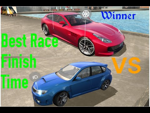 3D Cars Time Attack Challenge 5 Car Stunt Races Mega Ramps HD