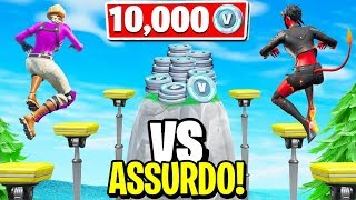 The FIRST that FINISCE this PERCORSO receives 10,000 V-BUCKS!! - Fortnite ITA