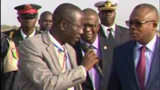 THE BISSAU GUINEAN PRIME MINISTER, OMARU SISOHO
