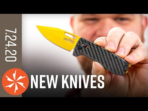 New Knives for the Week of July 23rd, 2020 Just In at KnifeCenter.com