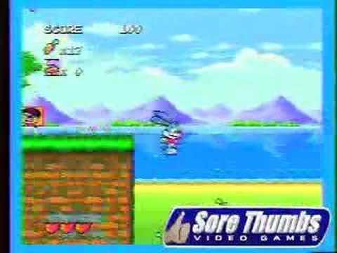Sega genesis tiny toons adventures youtube voltagebd Choice Image