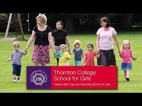 Thornton College Nursery - The Nursery at Thornton, the day and boarding School for girls.