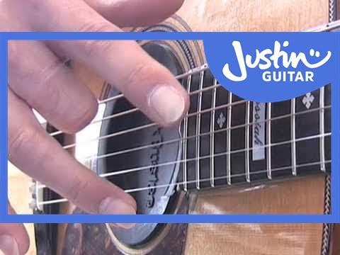 Harp Harmonics (Guitar Lesson TE-014) How to play