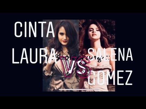 Salena Gomez VS Cinta Laura For Boomereng Song (HD)