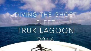 Diving Chuuk Lagoon 2016 with Truk Lagoon Dive Center.