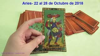 Aries- 22 al 28 de octubre de 2018