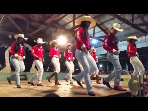Apresentação de Dança Country/ Sertaneja (Comitiva Te Pego no Laço- AM)
