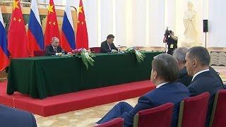 видео Заявления для прессы по итогам переговоров с Председателем КНР Си Цзиньпином