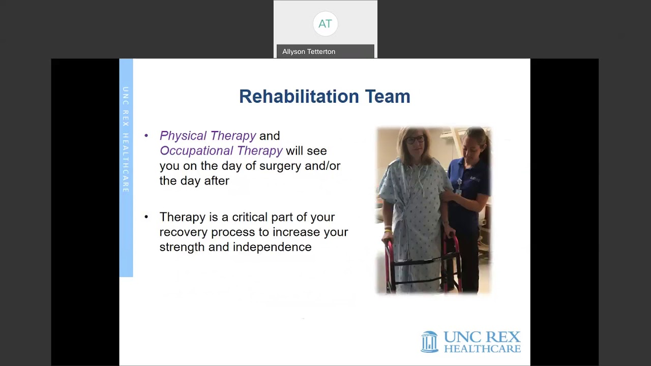 Rex Wellness Membership Christmas 2020 Joint Replacement Surgery | UNC REX Healthcare | Cary, Garner