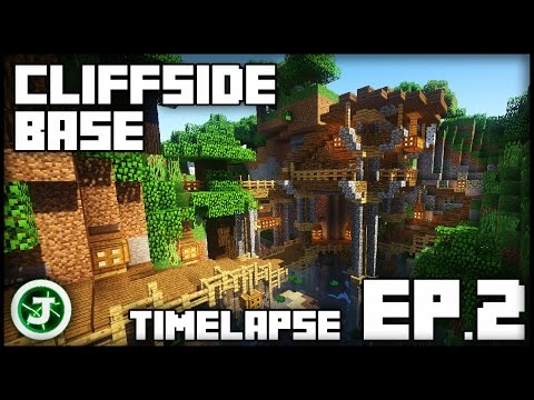 Minecraft Timelapse - Cliffside Base Ep.2 (With Download)