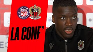 VIDEO: Nsoki en conf' avant Toulouse