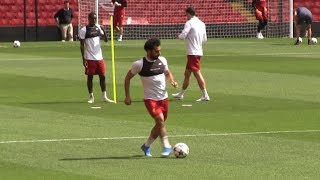 Mo Salah Training for Champions League Final | Best Moments