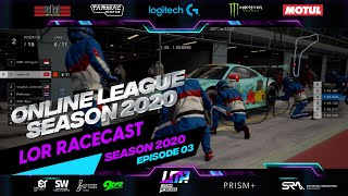 LOR Racecast Season 2020 Episode 03