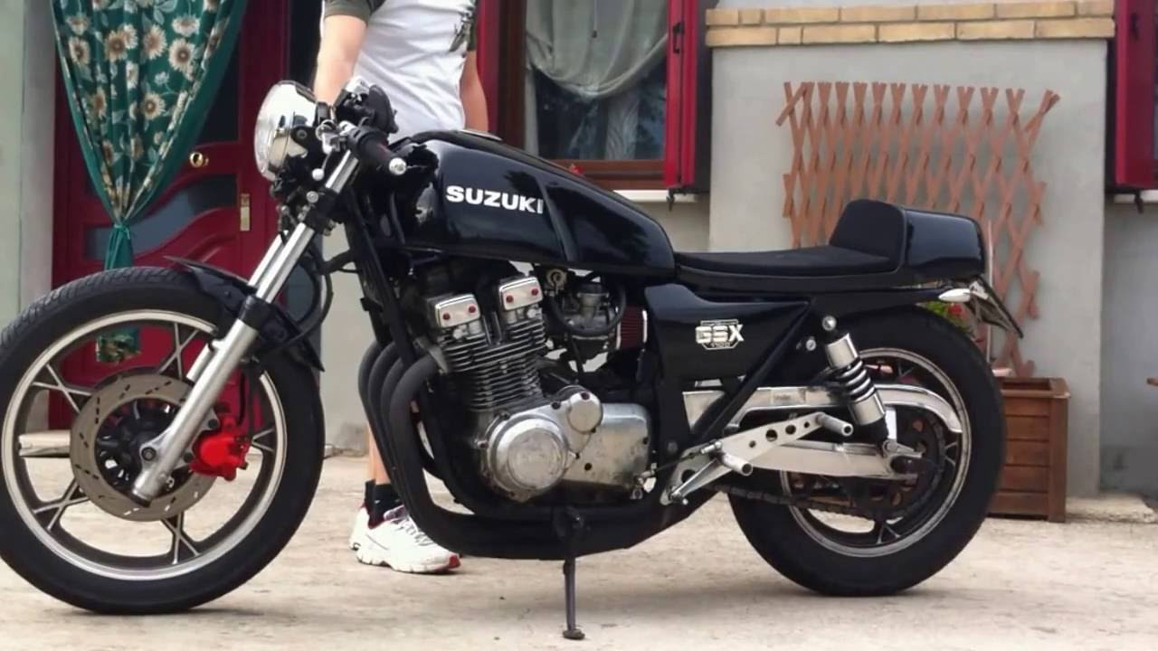 Suzuki Gsx 1100e cafe racer