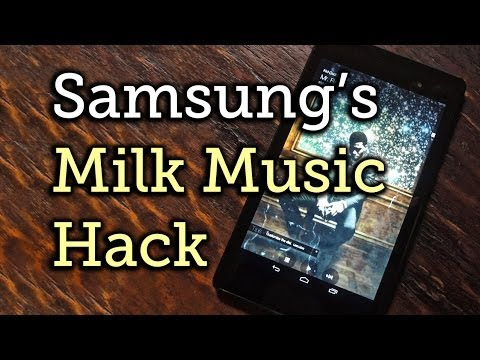 Get Samsung's Exclusive Milk Music App for Your Nexus 7 or Other Android Device [How-To]