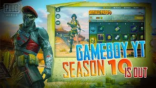 🔴PUBG MOBILE (EMULATOR)||SEASON 10 IS HERE😘 ||GAMEBOY YT||💲DONATIONS ON SCREEN.