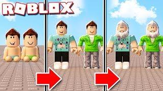 Roblox Adventures-vida útil realista em ROBLOX! (Grow Old & Die)