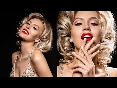 Современный макияж Мэрлин Монро