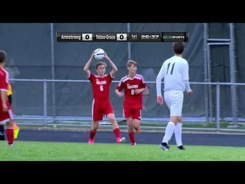 Armstrong vs. Totino-Grace Boys High School Soccer